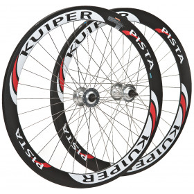 FCC50: 50mm Full Carbon Clincher wheelset